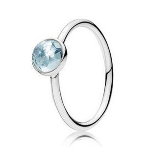 🍓Pandora March Droplet Ring